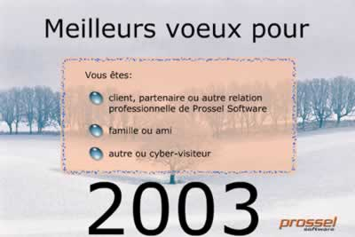 Voeux 2003